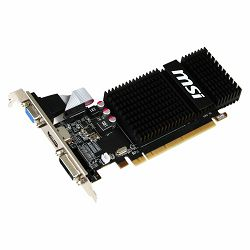 MSI Video Card AMD Radeon R5 230 GDDR3 2GB/64bit, 625MHz/1066MHz, PCI-E 2.1 x16, HDMI, DVI-D, VGA, Heatsink, Low-profile, Retail
