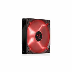 Riotoro 120mm Case Fan Red LED