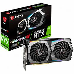 MSI Video Card NVidia GeForce RTX 2060 SUPER GAMING X GDDR6 8GB/256bit, 1695MHz/14000MHz, PCI-E 3.0 x16, 3xDP, HDMI, Twin Frozr VII Cooler(Double Slot) RGB Mystic Light, Backplate, Retail