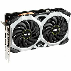 MSI Video Card NVidia GeForce RTX 2060 VENTUS XS GDDR6 6GB/192bit, 1680MHz/14000MHz, PCI-E 3.0 x16, 3xDP, HDMI, TORX 2X Cooler(Double Slot) Backplate, Retail