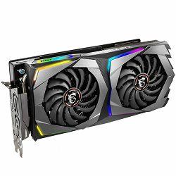 MSI Video Card NVidia GeForce RTX 2070 GAMING 8G GDDR6 8GB/256bit, 1620MHz/1410MHz, PCI-E 3.0 x16, 3xDP, HDMI, 1xUSB Type C, Retail