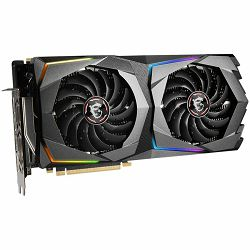 MSI Video Card NVidia GeForce RTX 2070 SUPER GAMING X GDDR6 8GB/256bit, 1800MHz/14000MHz, PCI-E 3.0 x16, 3xDP, HDMI, Twin Frozr VII Cooler(Double Slot) RGB Mystic Light, Backplate, Retail
