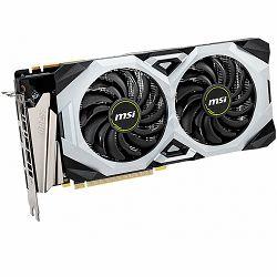 MSI Video Card NVidia GeForce RTX 2070 VENTUS SUPER OC GDDR6 8GB/256bit, 1785MHz/14000MHz, PCI-E 3.0 x16, 3xDP, HDMI, TORX 2X Cooler(Double Slot) Backplate, Retail