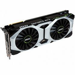 MSI Video Card NVidia GeForce RTX 2080 SUPER VENTUS OC GDDR6 8GB/256bit, 1xxxMHz/14000MHz, PCI-E 3.0 x16, 3xDP, HDMI, USB Type-C, TORX 2X Cooler(Double Slot) Backplate, Retail
