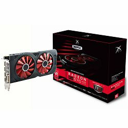 XFX Video Card AMD Radeon RX 570 RS 4GB Black Ed. OC 1264 Mhz GDDR5 7.0GHz 4GB/256bit Dual Fan 3X DP HDMI DVI
