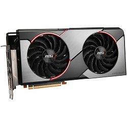 MSI Video Card AMD Radeon RX 5600 XT GAMING X GDDR6 6GB/192bit, 1460MHz/12000MHz, PCI-E 4.0, 3xDP, HDMI, TORX 2X Cooler(Double Slot), RGB Mystic Light, Backplate, Retail