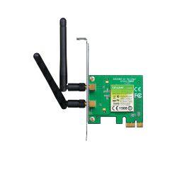 TP-Link bežični PCIe adapter 300Mbps (2.4GHz), 802.11n/g/b, 2× odvojiva antena, Low profile