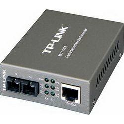 TP-Link 100Mbps RJ45 to 100base optical (SC, SM)-20km Media Converter