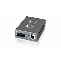 TP-Link 1GbE RJ45 to1G SFP Optical (SC,SM)-15 km Media Converter