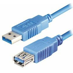 Transmedia USB 3.0 type A plug - USB type A jack 2m