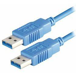 Transmedia USB 3.0 type A plug - USB type A plug 2m