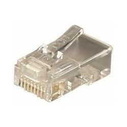 Transmedia RJ45 connector for round cable