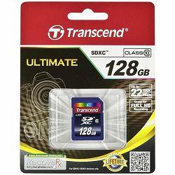 TRANSCEND Memory ( flash cards ) 128GB SDXC Class 10