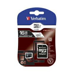 Verbatim memorijska kartica Micro Secure Digital (HC) 16GB Class 10 + adapter, Blister Pack