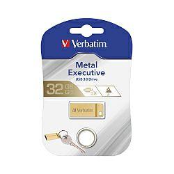 Verbatim USB3.0 StorenGo Metal Executive 64GB, zlatni