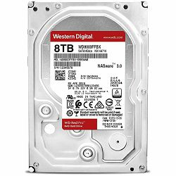 Western Digital 8TB RED PRO 256MB 7200rpm SATA 3 WD8003FFBX