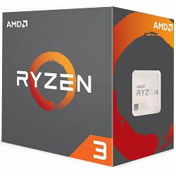 AMD CPU Desktop Ryzen 3 4C/4T 2200G (3.7GHz,6MB,65W,AM4) multipack, with Wraith Stealth cooler and RX Vega Graphics