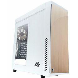 Zalman R1 Mid Tower Case, white