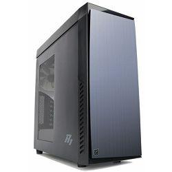 Zalman R1 Mid Tower Case, black