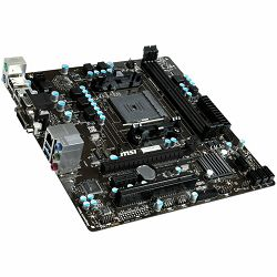 MSI Main Board Desktop AMD A88X (SFM2+,DDR3,SATA III,RAID,GLAN,USB2.0,USB3.0,VGA,DVI) mATX Box