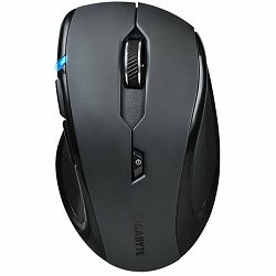 GIGABYTE Mouse AIRE M73 (Wireless, Optical, 1000 DPI) Black, Retail