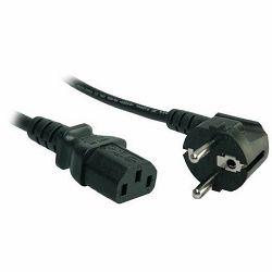 Power Cord AKYGA AK-PC-01C IEC C13 CEE 7/7 230V/50Hz 1.5m