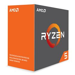 AMD Ryzen 5 1600X, 6C/12T, 3,6GHz,19MB, AM4,bez hl
