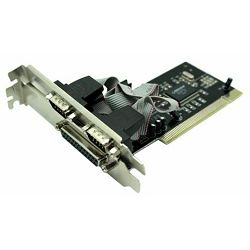 Asonic PCI 2x ser. (RS232), 1x paralel port