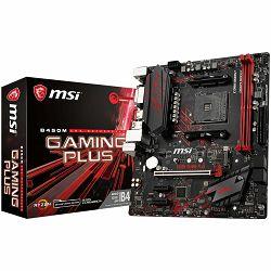 MSI Main Board Desktop B450M GAMING PLUS