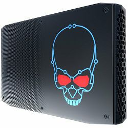 Intel 8th Gen, Core i7-8705G QuadCore 3.1GHz 4.1Hz Turbo 65W TDP, 2x 1.2V SODIMM (max 32GB), 2x NVMe/SATA M.2 SSD (42/80mm) w/RAID 0/1, AMD Radeon™ RX Vega M GL Graphics (2x rear Thunderbolt™ 3 (40 Gb