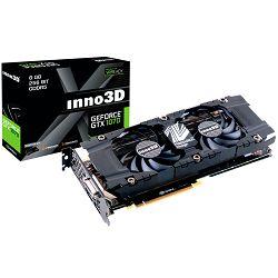 Inno3D Video Card GeForce GTX 1070 iChill X3 V2 (1582Mhz / 8Gbps) / 8 GB GDDR5 / 256-bit / Dual DVI+HDMI+DP / VA12U / GP104F8532