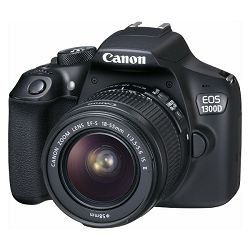 Canon EOS 1300D 18-55IS, 18MP, ISO6400, FullHD