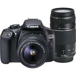 Canon EOS 1300D 18-55 + EF75-300