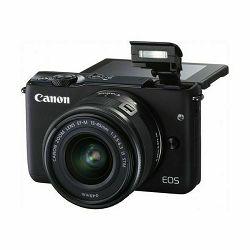 Canon EOS M10 crni+ EFM 15-45mm