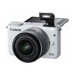 Canon EOS M10 bijeli + EFM 15-45mm
