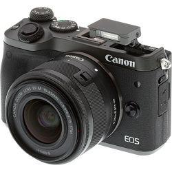 Canon EOS M6 crni+ EFM 15-45mm IS