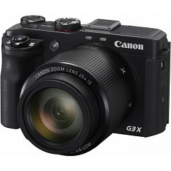 Canon PS G3X, 20MP, 25x (24-600mm), 3.2