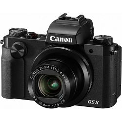 Canon PS G5X, 20MP, 4.2x (24-100mm), 3