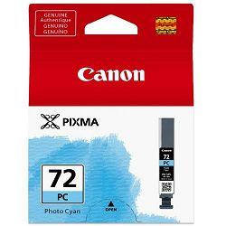 Canon tinta PGI-72PC, foto cijan