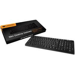 black, CANYON104 keys keyboard with AD layout,spill resistant,USB interface
