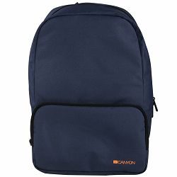 CANYON CNE-CNP15S1BL Practical backpack for walk, sport and every day. Color blueMain compartment with small zipper pocket on the front for your essential accessoriesMade of durable materials