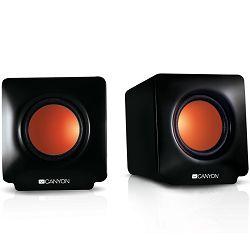 2.0 portable USB power speakers 3.5mm audio jack