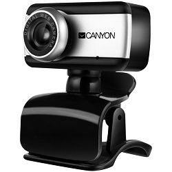 Enhanced 0.3 Megapixels resolutions webcam with USB 2.0 connector, 360 rotary view scape, sensitive microphone, multifunctional pedestal and compatible with Windows OS and MAC OS