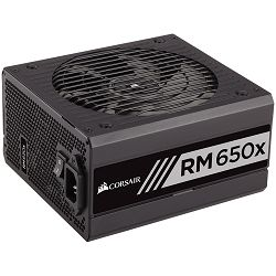 Corsair PSU Enthusiast Series RM650x Power Supply, Fully Modular 80 Plus Gold 650 Watt, EU Version