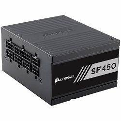 CORSAIR SF Series SF450 — 450 Watt 80 PLUS Gold Certified High Performance SFX PSU (EU)