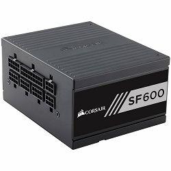 CORSAIR SF Series SF600 — 600 Watt 80 PLUS Gold Certified High Performance SFX PSU (EU)