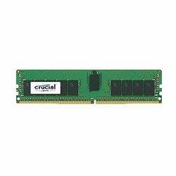 Crucial DRAM 16GB DDR4  2400 MT/s (PC4-19200) CL17 DR x8 ECC Registered DIMM 288pin, EAN: 649528771766