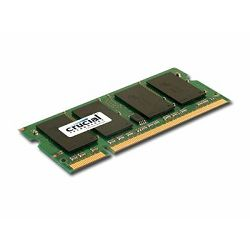 Crucial RAM 2GB DDR2 800MHz (PC2-6400) CL6 SODIMM 200pin