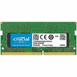 CRUCIAL DRAM 4GB DDR4 2666 MT/s (PC4-21300) CL19 SR x8 SODIMM 260pin , EAN: 649528787286