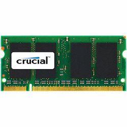 Crucial RAM 8GB DDR3 1333 MT/s  (PC3-10600) CL9 SODIMM 204pin 1.35V/1.5V for Mac